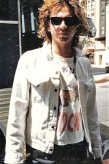 Michael Hutchence birthday
