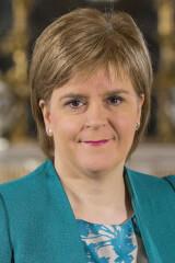 Nicola Sturgeon birthday